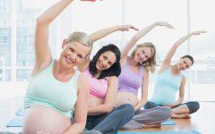 GG corso movimento dolce in casa maternita
