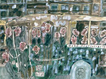 Il treno di Jean Dubuffet