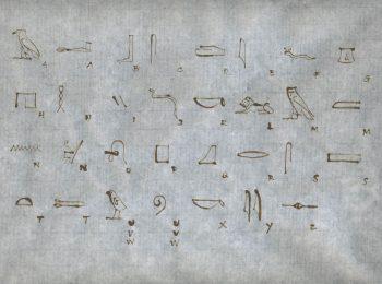 La scrittura – immagine