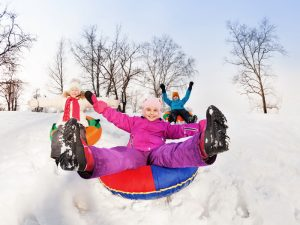 GG montagna e neve con i bambini4