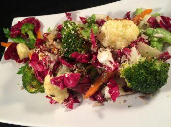 Radicchio e broccoli