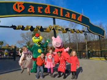 Peppa Pig accompagna i bambini a Gardaland