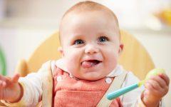GG i primi cibi solidi per i bambini allattati