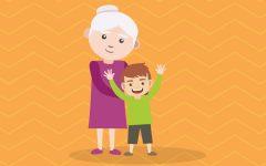 GG oggi fuga a quattro mani per nonna e bambino
