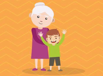 Oggi. Fuga a quattro mani per nonna e bambino