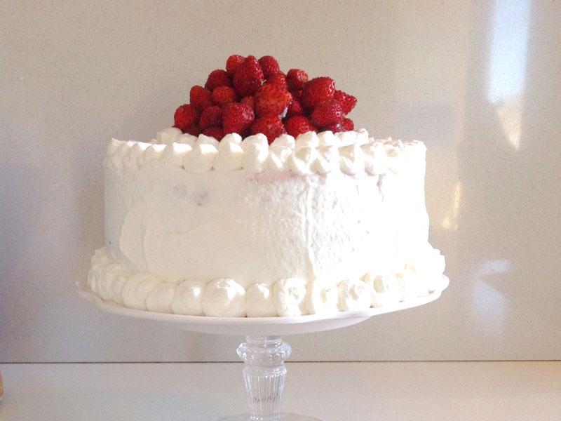 GG trionfo di fragole torta 1