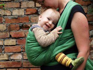GG a casa con il neonato dopo il parto3