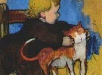 Animali d'artista: un gatto per Paul