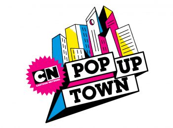 Cartoon Network Pop Up Town 2018
