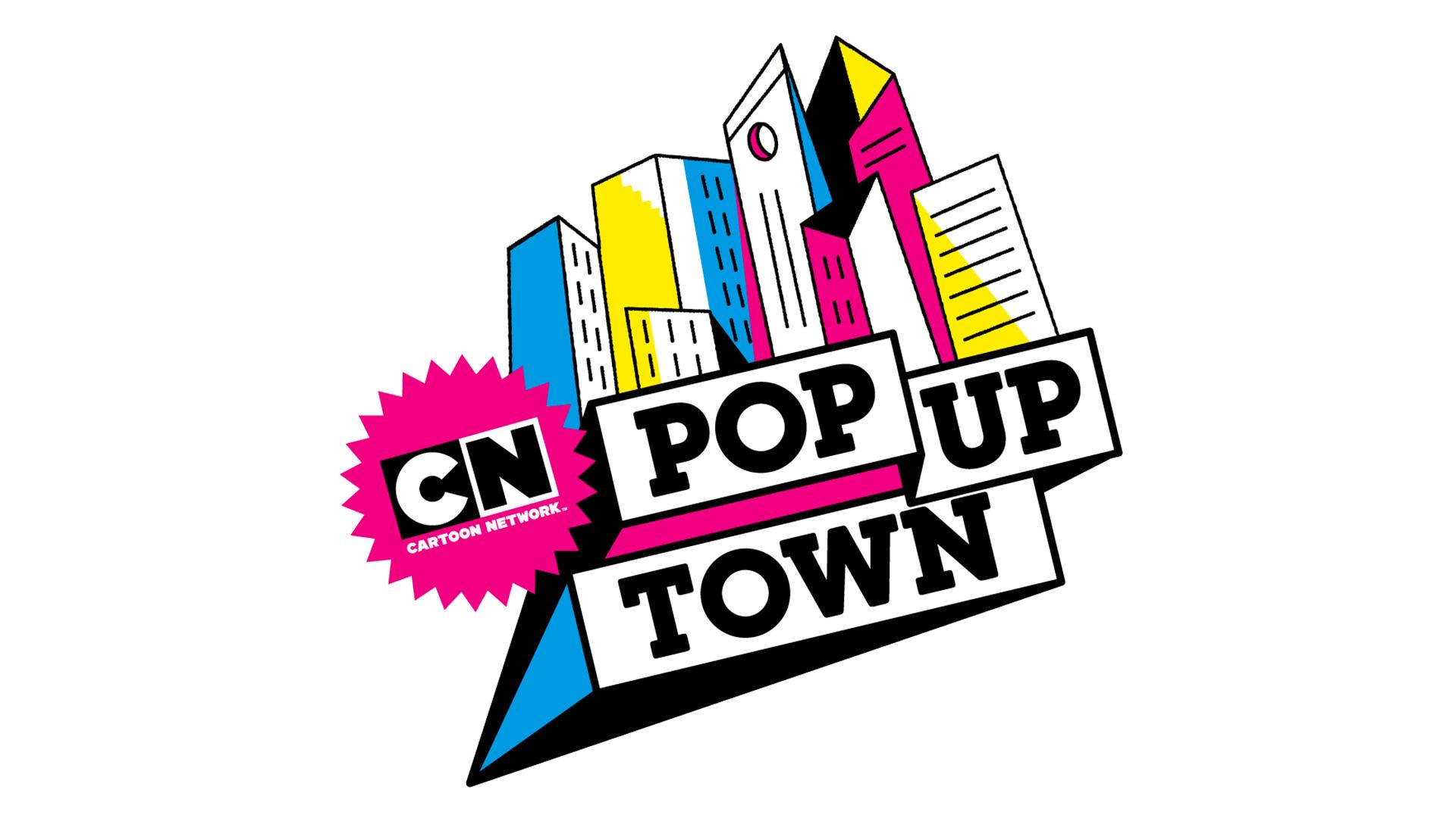 Cartoon Network Pop Up Town 2018