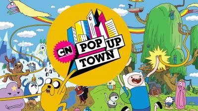 GG cartoon network pop up town 20182