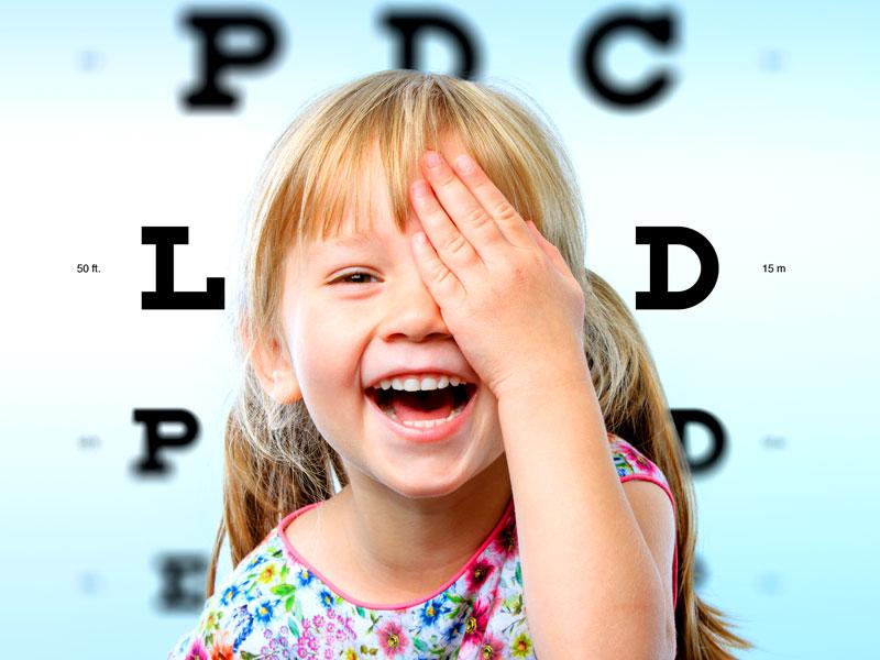 Consigli pratici per controllare la vista dei bambini e dei neonati