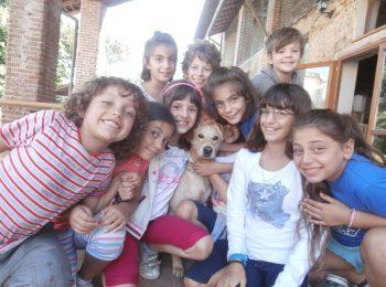 Si scoprono natura e animali nei campi estivi in Cascina Santa Brera