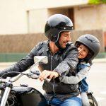 Quando il papà è motociclista
