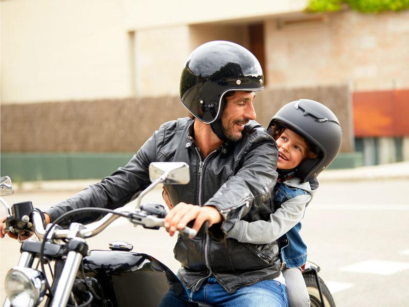 Il papà motociclista. E tu, che tipo sei?