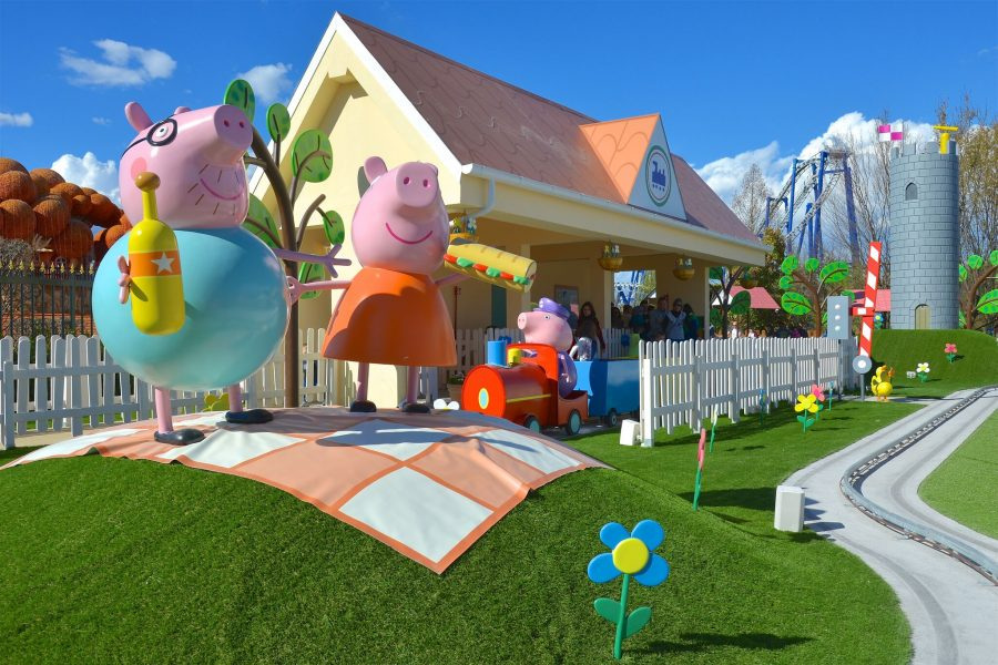 Bambini piccoli a Gardaland - Peppa Pig Land
