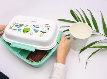 Merenda con le lunch box Petit Fernand, tra unicorni, pianeti e supereroi