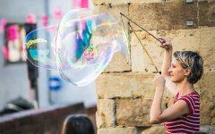 GG il carretto delle bolle giganti