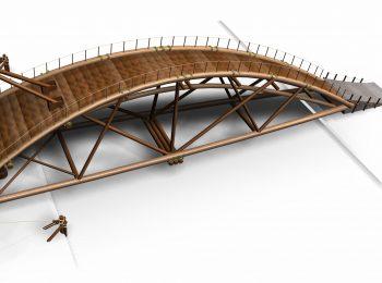 Quel genio di Leonardo: il ponte di Leonardo