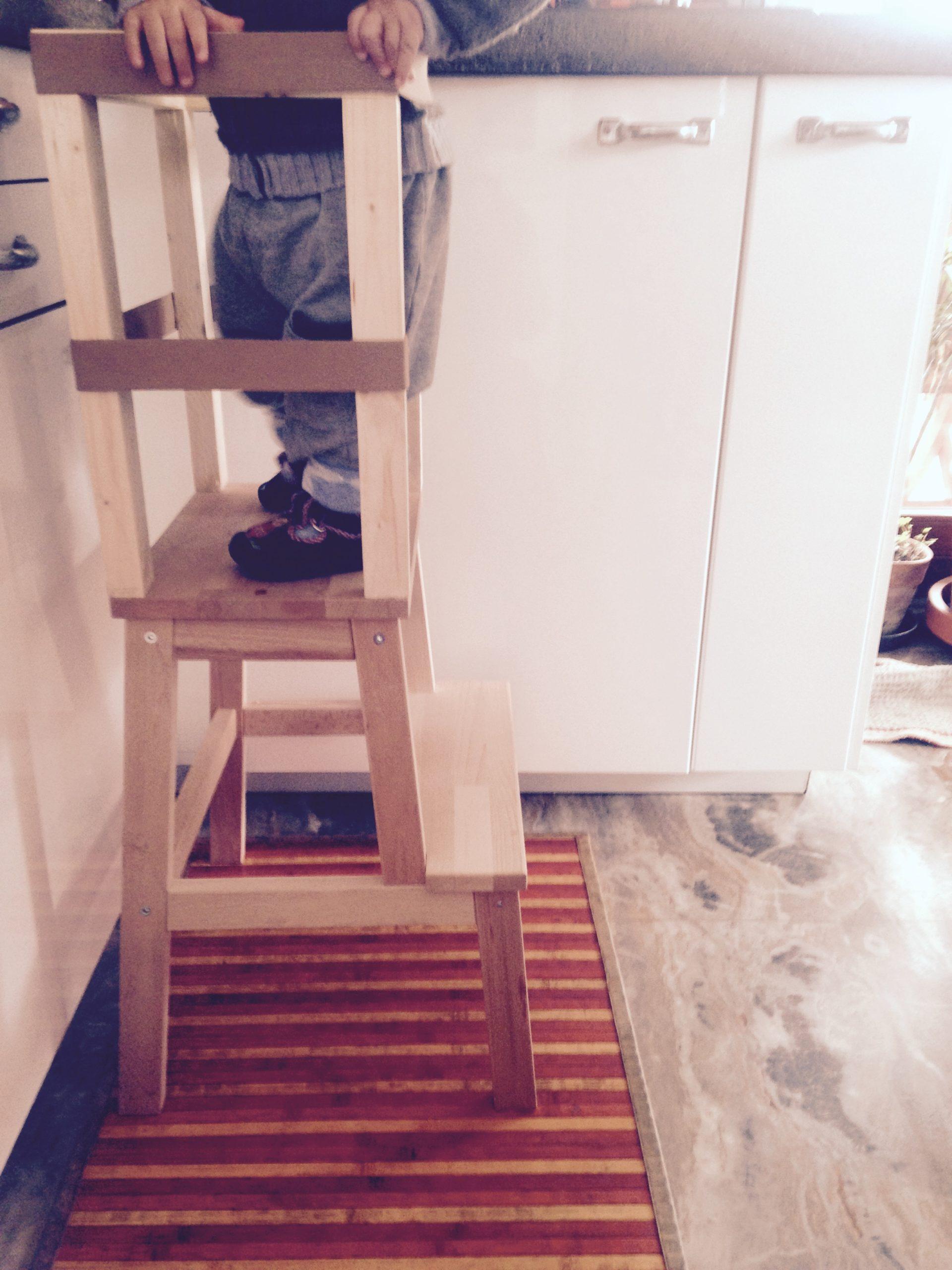 Learning tower per favorire l'autonomia del bambino