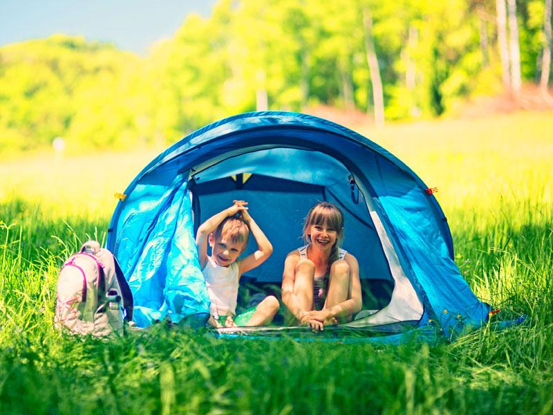 In tenda con i bambini: i consigli di GG per una vacanza indimenticabile