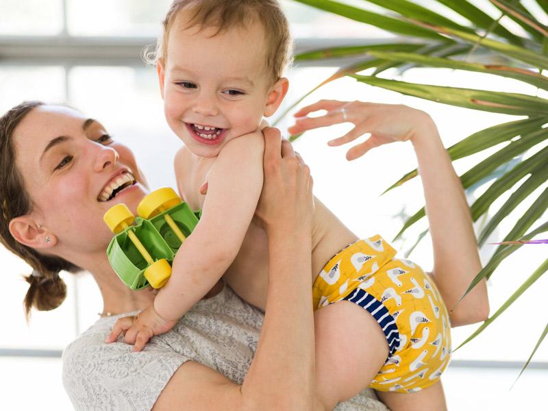 Culla di Teby, il pannolino trasformabile per le mamme moderne