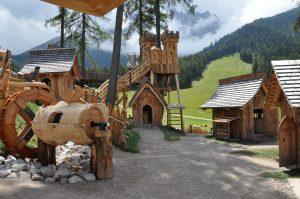Villaggio degli gnomi_Castello