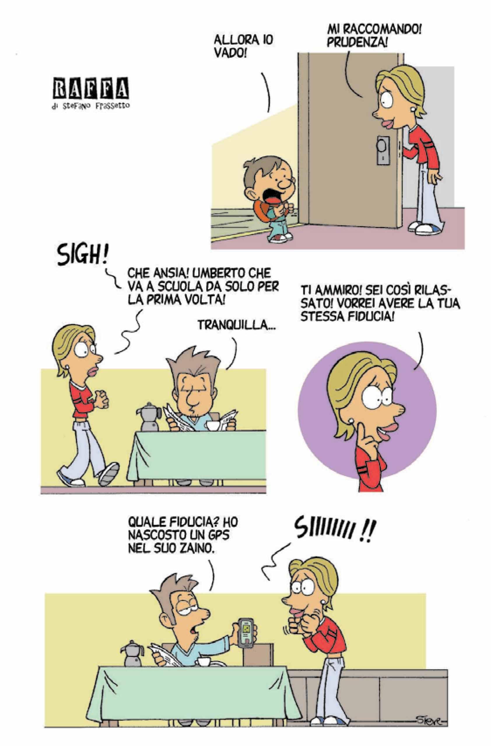 RAFFA | Il fumetto di Steve Frassetto | #77