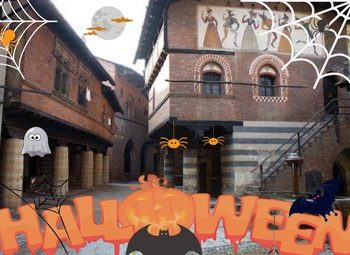 Maschere paurose al Borgo Medievale