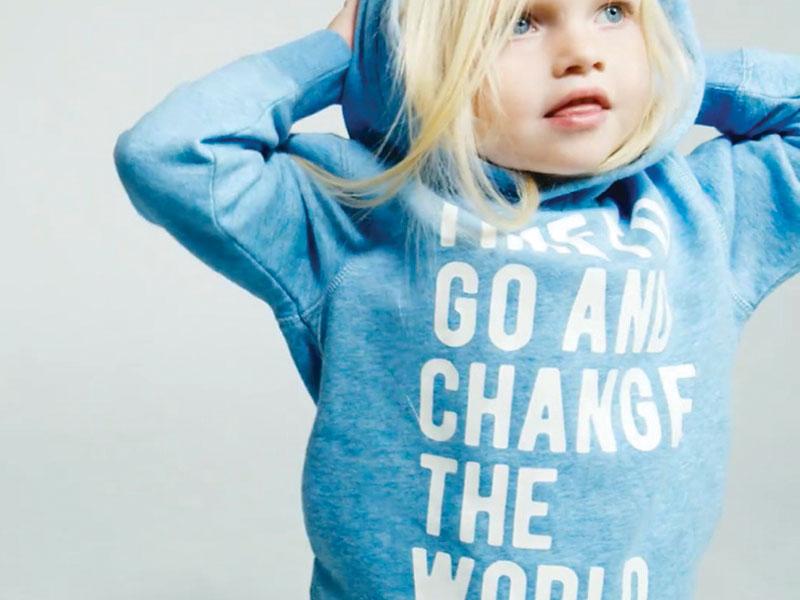 Agender. La moda per bambini non ha genere