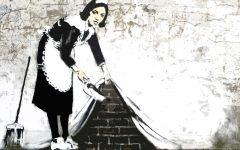 GG atelier disegno e pittura banksy