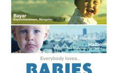 GG cinema con bebe babies