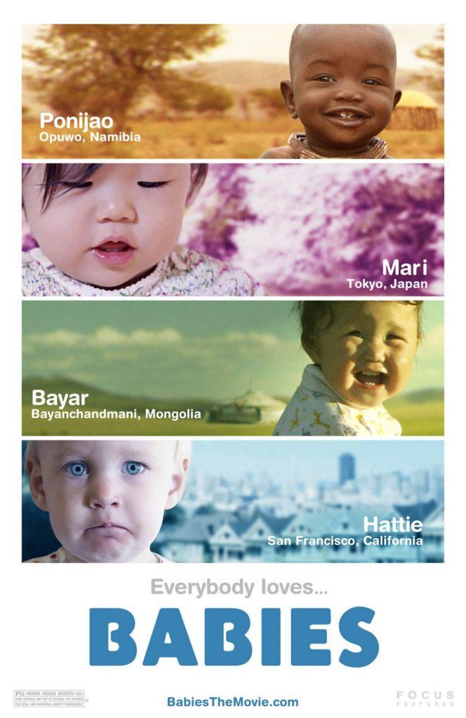GG cinema con bebe babies1