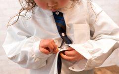 vestirsi da soli bambini