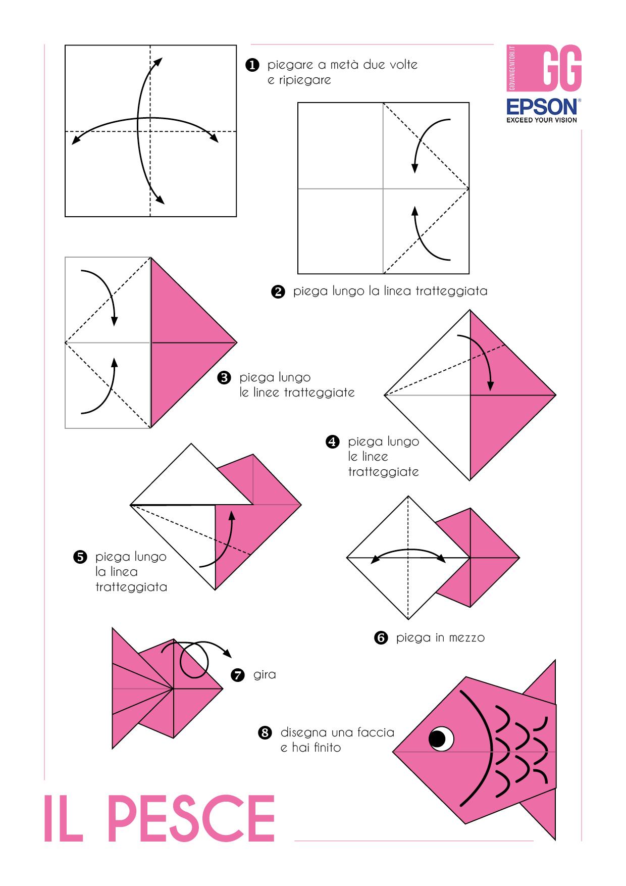 Cosa Fare Con I Bambini Quando Piove Gli Origami