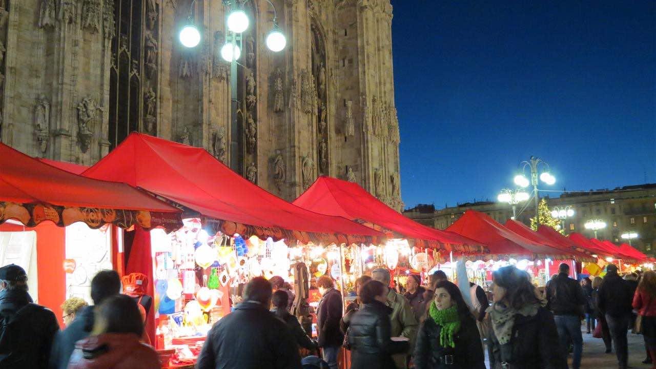 GG mercatini di natale piazza duomo milano