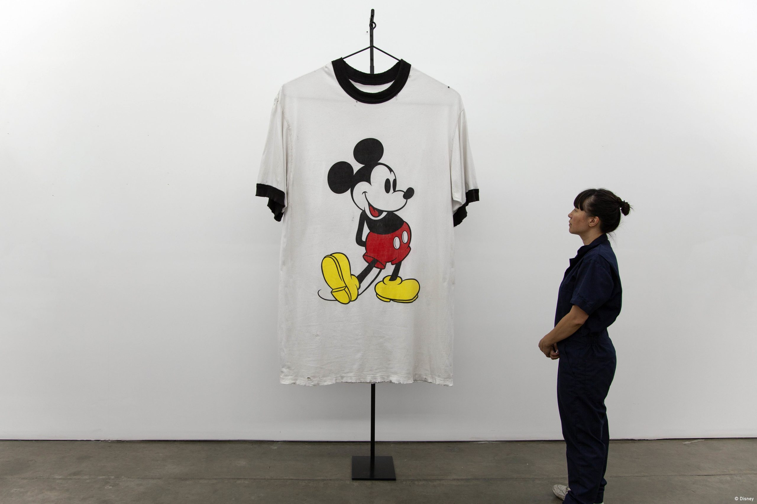 Mickey: The True Original Exhibition, Topolino va a New York