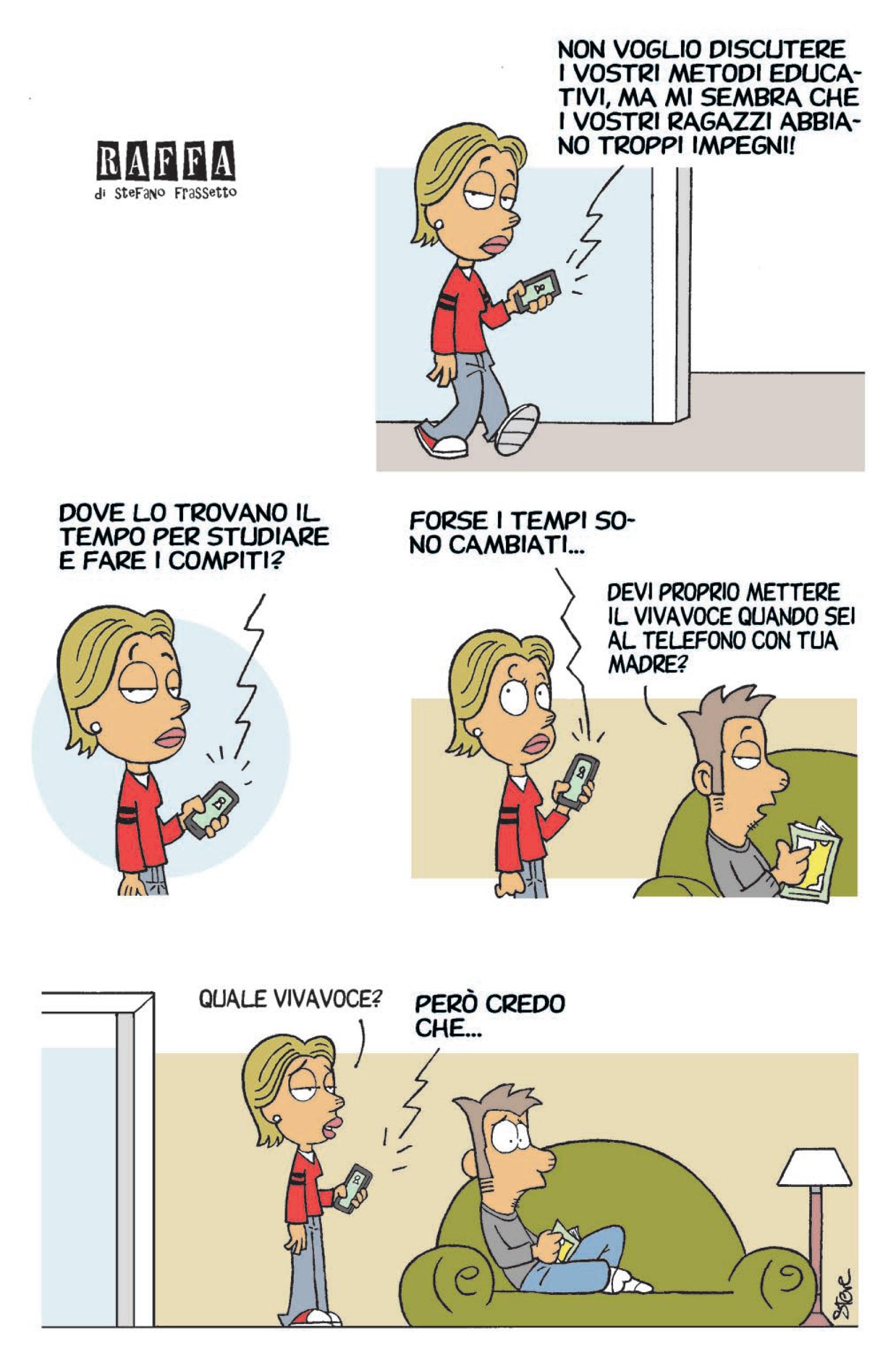 RAFFA | Il fumetto di Steve Frassetto | #79