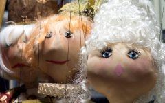GG teatro colla marionette sul palco di novembre
