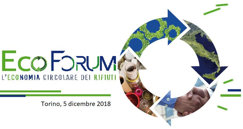 All'Environment Park di Torino, l'Ecoforum per l'economia circolare del Piemonte