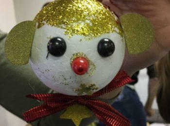 Costruzione di palle di Natale