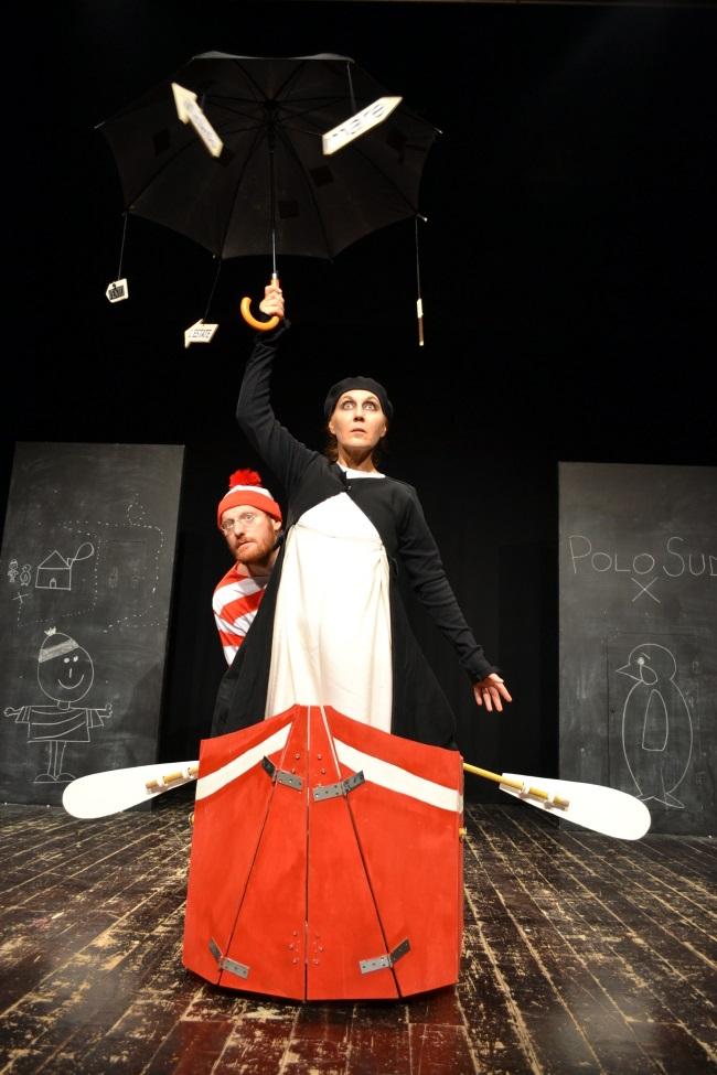 GG 13 gen storia di un bambino e di pinguino teatrino civico