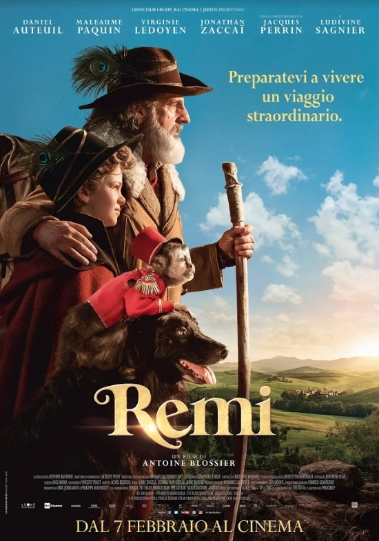 Remi film remake cinema 7 febbraio 2019