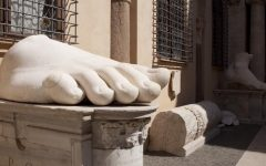 Roma Musei Capitolini con i bambini