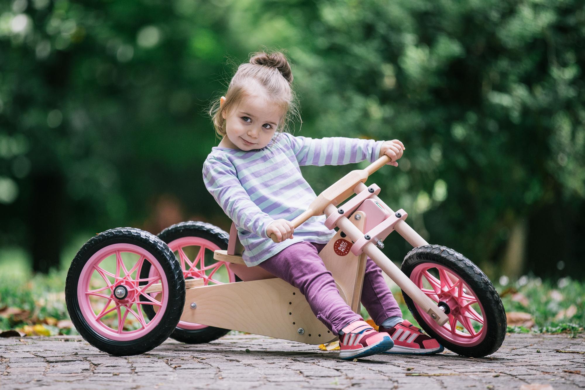 bicicletta balance bike bambina 2 anni Teknikwood