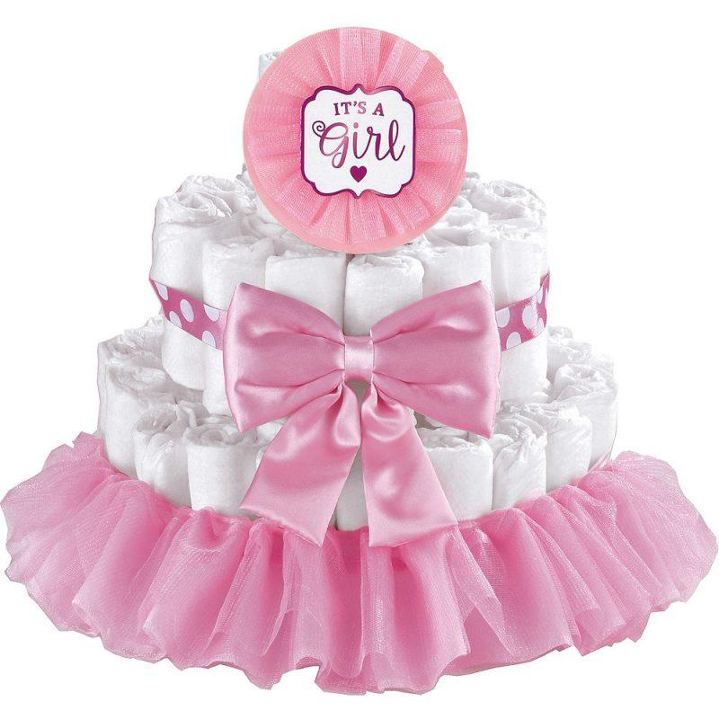torta di pannolini idee regalo mamma