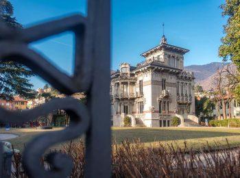 Simmetrie e fregi al Museo di Villa Bernasconi a febbraio