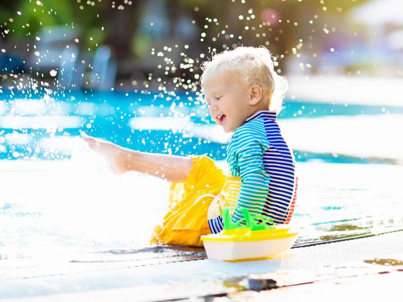 """La piscina in giardino: un """"lusso"""" alla portata di tutti"""