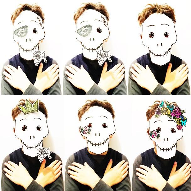 GG maschere macabre