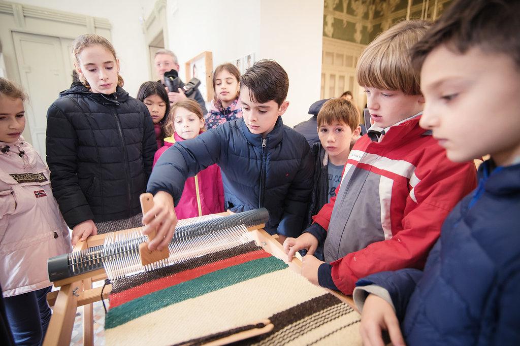 GG museo di villa bernasconi a marzo